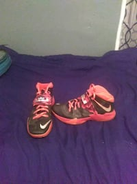 pair of black-and-red Nike basketball shoes Baltimore, 21216