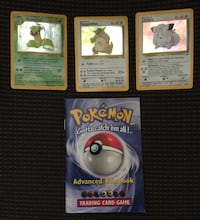 3 Pokémon Cards & Booklet