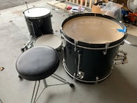 PDP Drums by DW / Snare, Bass and Floor Tom Fairfax, 22033