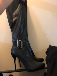 39 red bottom high heel boots  Toronto