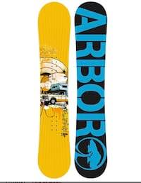 Arbor snowboard Flow bidding 58 sizes  543 km