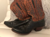 Lucchese boots with Swarovski Crystals - women's size 8 San Diego, 92130