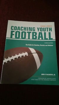 Youth football coaching book San Antonio, 78250