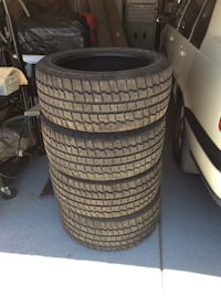 Cooper Weather Master Snow Tires w Studs.  s/T2. 235/45R17