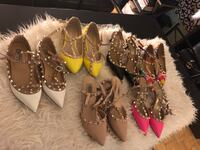 women's assorted pairs of shoes Toronto, M6B 3A9