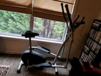 black and gray elliptical trainer Austell, 30168