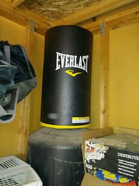 black Everlast heavy bag with stand Urbandale, 50322