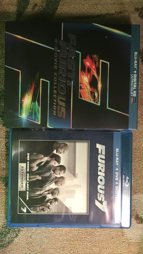The fast and the furious 1-7 bluray set