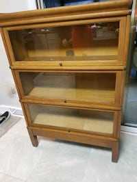 Antique GLOBE WERNICKE Stackable Bookcase - 3 Sections - $500/BO