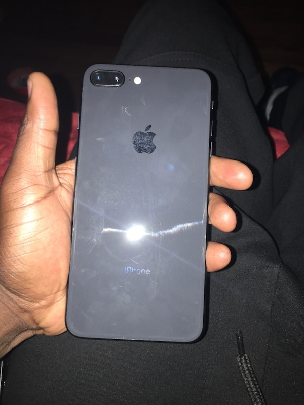 Smoke gray iPhone 8plus fresh but its locked