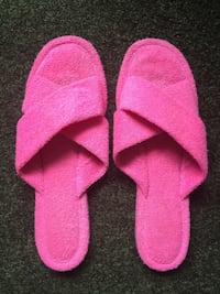 Pink Terry Slippers size 8/9 Halifax, B3J 0A2