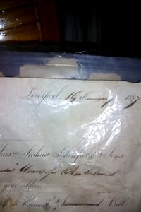 Very old documents/books from Huey P longs Estate.