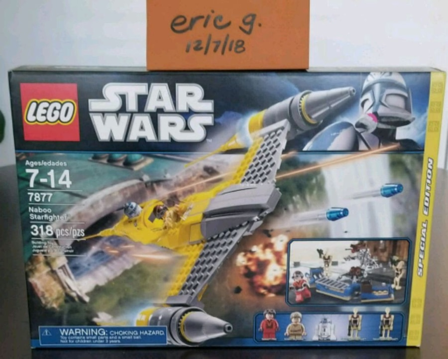 LEGO STAR WARS 7877 Service Vehicle NEW