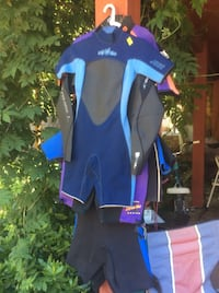 Wetsuits...3 left, all shorties. Various  sizes Lake Oswego, 97035