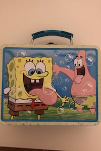 Kids Metal Spongebob Lunch Box Fairfax, 22032