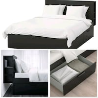 Queen size bed, with storage Houston, 77063