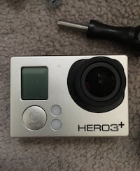 gray GoPro Hero 3 + action camera Calgary, T3K 0J8