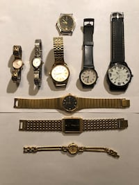 Watches, all need batteries Baltimore, 21239