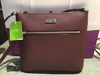 brown leather Michael Kors crossbody bag Markham, L3P