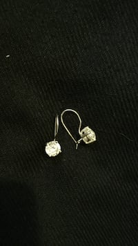 pair of silver-colored earrings London, N6E 2S7