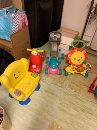Toddler's assorted toys Mississauga, L4T 3P7
