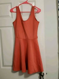 women's orange sleeveless dress Silver Spring, 20902