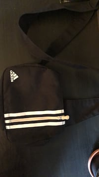 Adidas side bag (goes over the shoulder)
