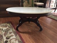 Mahogany marble top coffee table Myrtle Beach, 29579