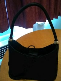 black and brown leather tote bag Ogden, 84403