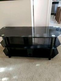 black glass TV stand with mount Anaheim, 92801