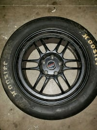 Enkei RPF1 wheels with Hoosier drag slicks Gahanna, 43230