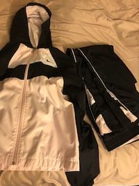 Nike women's size M (8-10) White and black zip-up jacket Pacific Grove, 93950