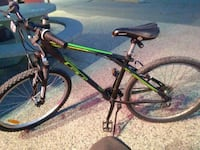 green and black hardtail mountain bike Regina, S4N 2S4