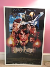 Framed Harry Potter poster Bethesda, 20814