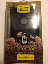 iPhone 6s Plus/6 Plus Otterbox Defender case with holster - New - $25 Waterford, 06385