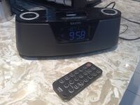 Sanyo iPhone / iPod / Alarm Clock Radio Courtice