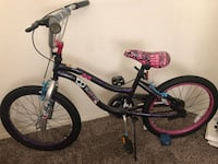 toddler's purple and black bicycle Long Beach, 90804