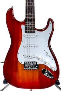 Unbranded  Stratocaster Style Red  Burst Electric Guitar