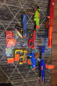 Huge Nerf Gun collection