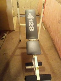 black and gray Weider exercise equipment Hamilton, L8W