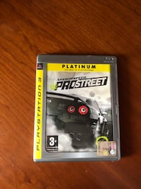 Need for speed Pro street per ps3