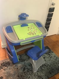 Child's desk (with easel) and chair Washington, 20007