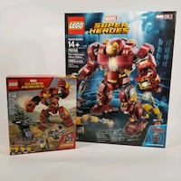 Lego Marvel Avengers Hulkbuster Ultron Edition 76105 & Smash-Up 76104 Germantown, 20874