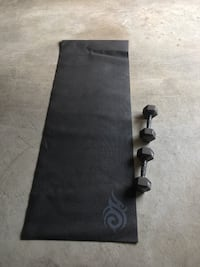 Yoga Mat & Weights  Vancouver, V5M 1T4