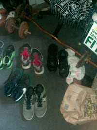 assorted pairs of shoes and sandals Shasta Lake, 96019