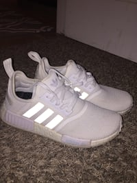 All white nmds size 8.5