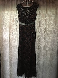 Beautiful black beaded evening dress  Calgary, T2W 3W4