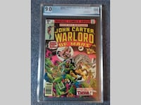 John Carter, Warlord of Mars #1 JUNE 1977 *PGX 9.0 SHELTON