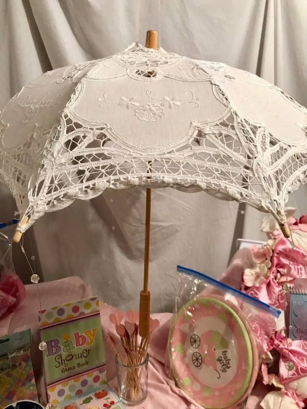 Baby Shower Girl, many handmade items 22fe1dc7-a6e3-49ac-a1a9-80345e9108cd