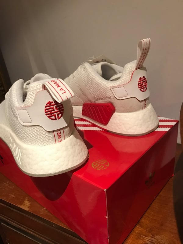Used Limited Adidas Nmd R2 Chinese New Year Cny For Sale In